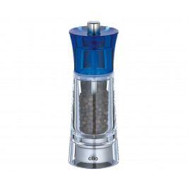 Mlýnek na pepř GENOVA modrý 14 cm - Cilio (GENOVA mlýnek na pepř 14 cm modrý - Cilio)