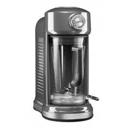 Mixér KitchenAid Artisan s magnetickým pohonem 5KSB5080 stříbřitě šedá