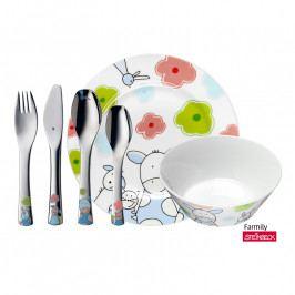 WMF Dětské nádobí Farmily, dětská jídelní sada 6 ks, s příborem