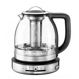 KitchenAid Skleněná rychlovarná konvice Artisan 5KEK1322ESS na čaj 1,5 l