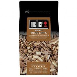 Weber Dřevěné udící lupínky Whiskey 700 g