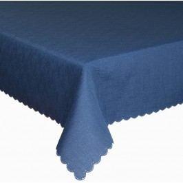 Forbyt  Ubrus s nešpinivou úpravou, jednobarevný, obdélníkový  140 x 220 cm 18 tm. modrá
