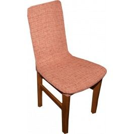 Forbyt,  Potah elastický na celé židle, Andrea cihlová komplet 2 ks,