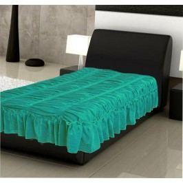 Forbyt,  Přehoz na postel, Bonadea 3 dvojpostel, tmavě zelená