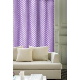 Forbyt, Závěs dekorační, OXY Tečky 150 cm, fialový