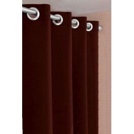Forbyt, Dekorační látka nebo závěs, Blackout 150 cm, tmavě hnědý