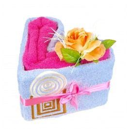 Forbyt, Srdce ručníkové, Alehandro, fialovo-růžové