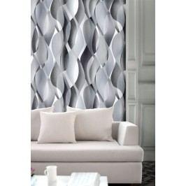 Forbyt, Závěs dekorační, OXY Hawaii 2, černo-šedý, 150 cm