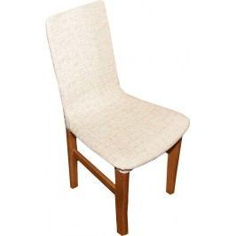Forbyt, Potah elastický na židle, Andrea béžová komplet 2 ks