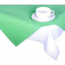 Forbyt, Ubrus s nešpinivou úpravou, Jednobarevný Deštík, světle zelený 120 x 140cm