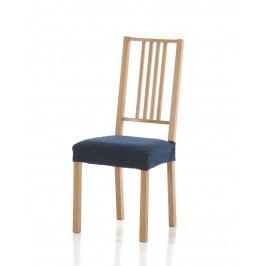 Forbyt, Potah elastický na sedák židle, Petra komplet 2 ks, modrá