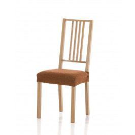 Forbyt, Potah elastický na sedák židle, Petra komplet 2 ks, oranžový