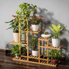 Regál TABIA bambus + dárek Tempo Kondela