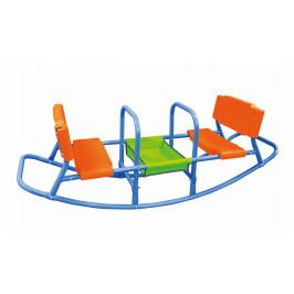 Houpačka pro děti GH5854 modrá / oranžová / zelená