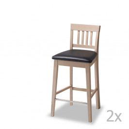 Sada 2 barových židlí Furnhouse Texas