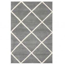 Vlněný koberec Safavieh Eliza, 121x182cm, šedý