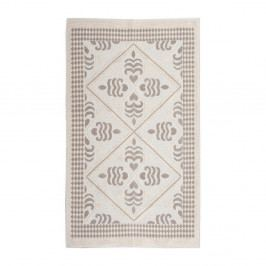 Krémový bavlněný koberec Floorist Flair, 120x180cm
