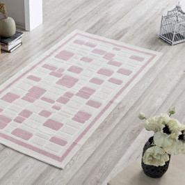 Koberec Pink Tiles, 100x150cm