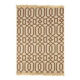Hnědobéžový koberec Ya Rugs Kenar, 80x150cm