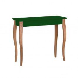 Tmavě zelený konzolový stolek Ragaba Lillo, šířka85cm