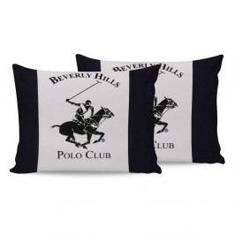 Sada bavlněných 2 polštářků Polo Club Dark,50x70cm