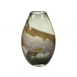 Ručně vyráběná křišťálová váza SantiagoPons Crystal, výška35cm