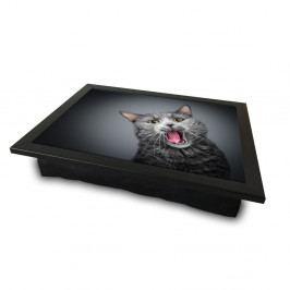 Servírovací tác spolštářem na spodní straně Cat, 36 x 46 cm