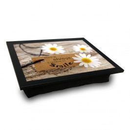 Servírovací tác spolštářem na spodní straně Flower, 36 x 46 cm