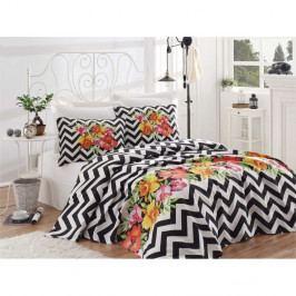 Bavlněný přehoz přes postel na dvoulůžko Single Pique Masalo, 200 x 235 cm