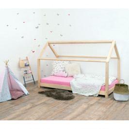 Přírodní dětská postel bez bočnic ze smrkového dřeva Benlemi Tery, 120 x 190 cm