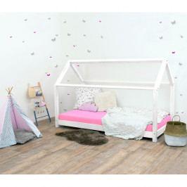 Bílá dětská postel bez bočnic ze smrkového dřeva Benlemi Tery, 90 x 160 cm