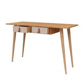 Pracovní stůl se 2 zásuvkami Soomin