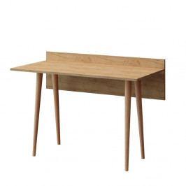 Hnědý pracovní stůl Imma