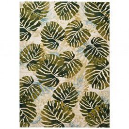 Zelený koberec Universal Tropics Multi, 200x290cm
