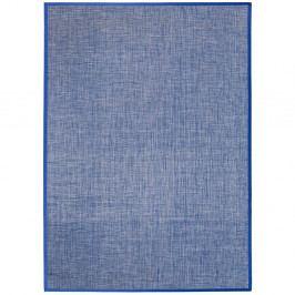 Modrý koberec Universal Bios Liso, 60x110cm