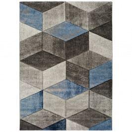 Modrošedý koberec Universal Indigo Azul Robo, 160x230cm