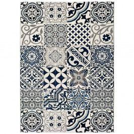Modrý koberec Universal Indigo Azul Mecho, 140x200cm