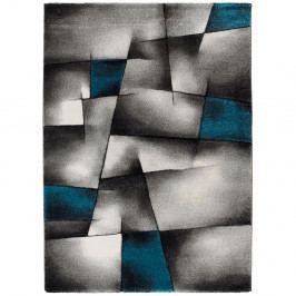 Modrošedý koberec Universal Malmo, 60x120cm