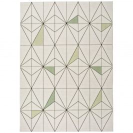 Bílý kberec Universal Slate Blanco, 160x230cm