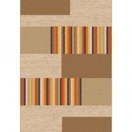 Hnědobéžový koberec Universal Boras Beige, 133x190cm
