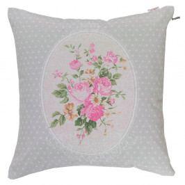Povlak na polštář Apolena Roses in Pink