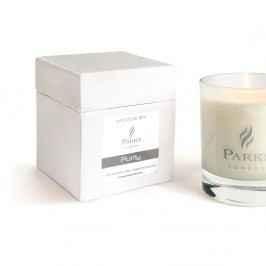 Svíčka s vůní orchideí a gardénií Parks Candles London Moods White, 50 hodin hoření