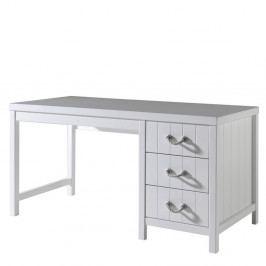 Bílý dětský pracovní stůl Vipack Lewis