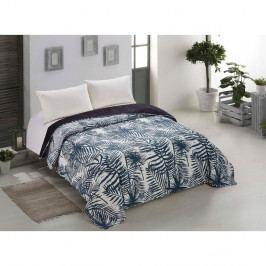 Oboustranný přehoz přes postel z mikrovlákna AmeliaHome Bush, 240 x 260 cm