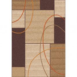 Hnědý koberec Universal Delta Beig, 57 x 110 cm