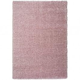 Růžový koberec Universal Floki Liso, 80 x 150 cm