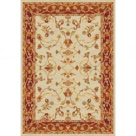 Béžovo-červený koberec Universal Terra, 190 x 280 cm