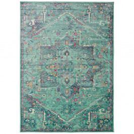 Tyrkysový koberec Universal Lara Aqua, 140 x 200 cm