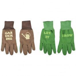 2 páry rukavic s potiskem Ego Dekor