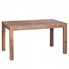 Jídelní stůl z masivního akáciového dřeva Skyport Alison, 140x80cm